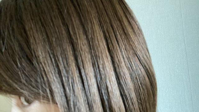 ホリスティックキュアのツヤ髪